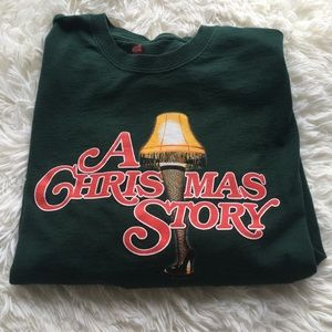 Large Long Sleeved A Christmas Story Tee
